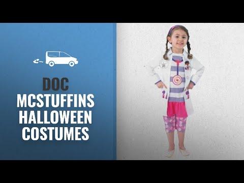 Our Favorite Doc Mcstuffins Halloween Costumes [2018]: Girls Disney Doc McStuffins Doctor Nurse Book