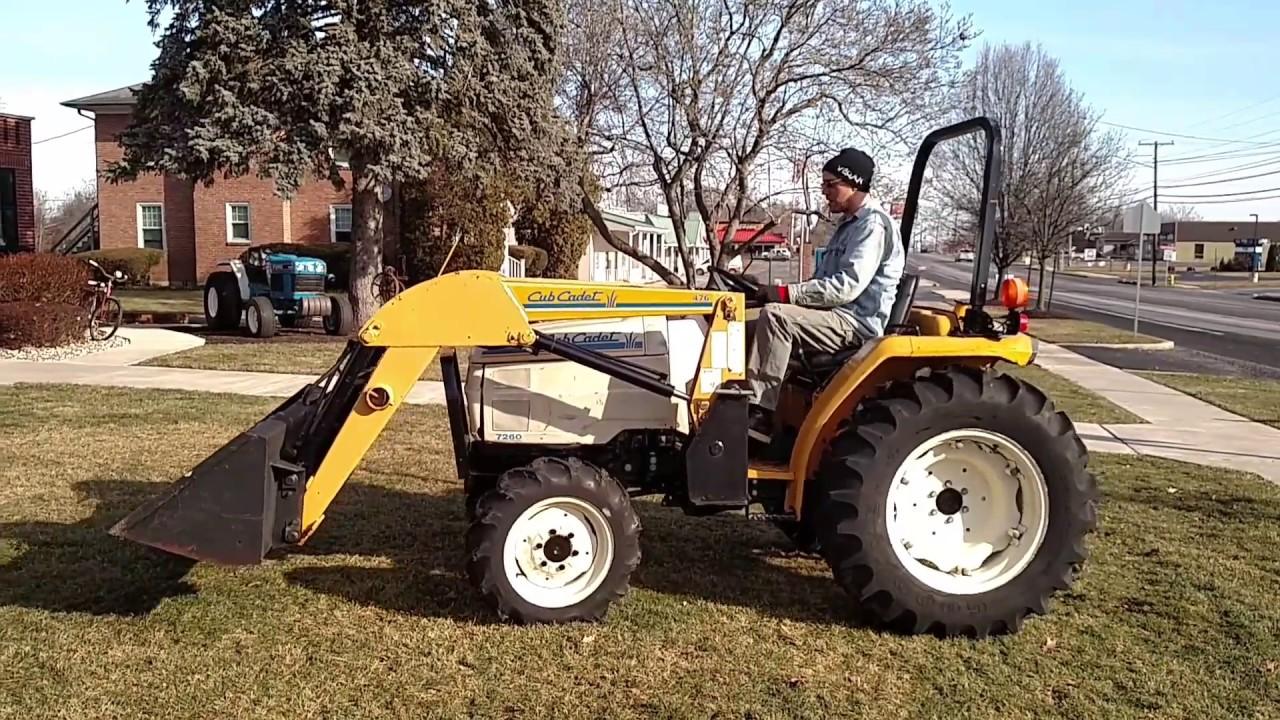 7260 Cub Cadet Tractor : Cub cadet tractor loader wd diesel text review