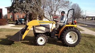 cub cadet 7260 tractor 476 loader 4wd diesel text review drive