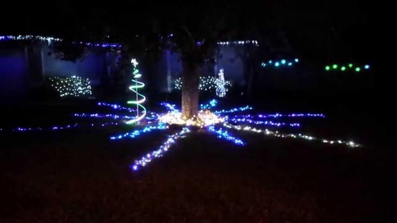Raspberry Pi Christmas Lights Snowflake - YouTube