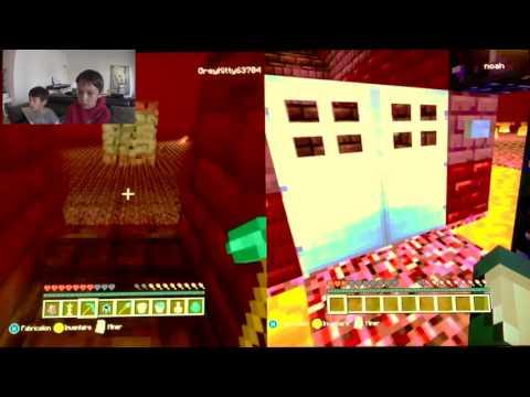 Minecraft XBOX 360 -  La bataille Sasha vs Noah thumbnail