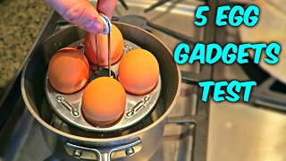 Repeat youtube video 5 Egg Gadgets put to the Test