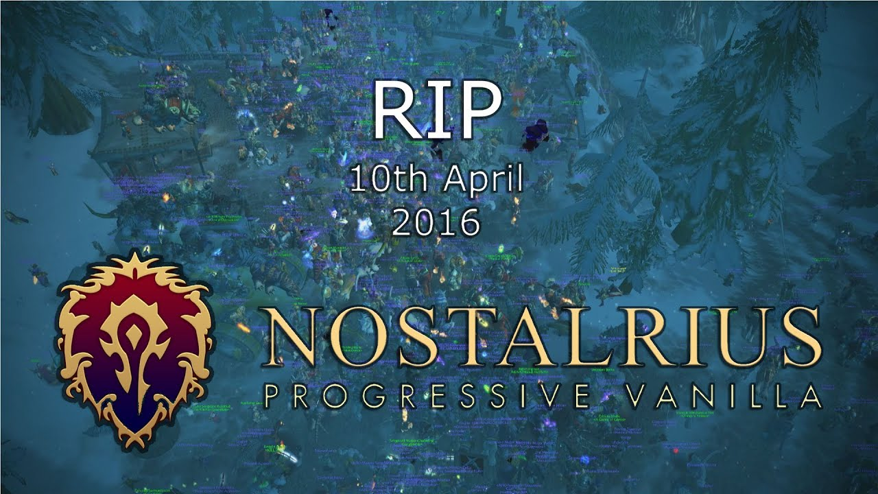 Nostalrius team meets Blizzard and says company wants legacy WOW