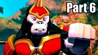 LEGO DC SUPER-VILLAINS [PS4 PRO] Gameplay Walkthrough Part 6 | No Commentary
