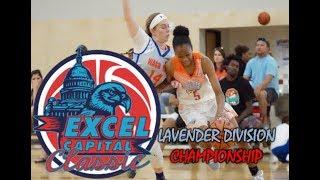 EXCEL CAPITAL CITY CLASSIC 2019-  Lavender Championship - Corpus Christi Thunder VS Waco Elite