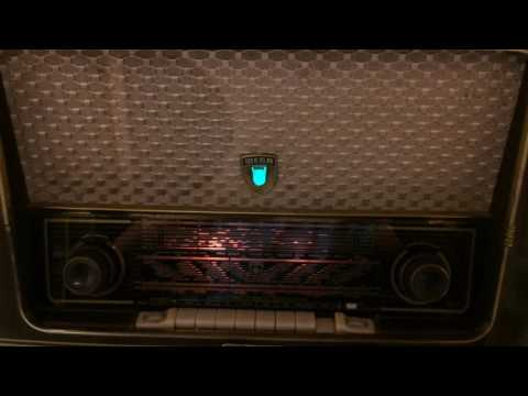 WEGA tube radio 301 / 501 powerfull playing tuberadio from germany