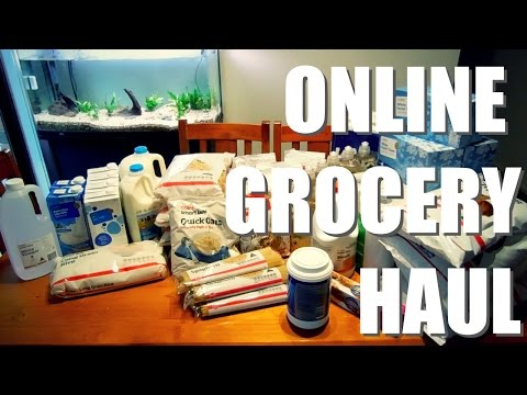 Grocery Haul: First Coles Online Order   Australia