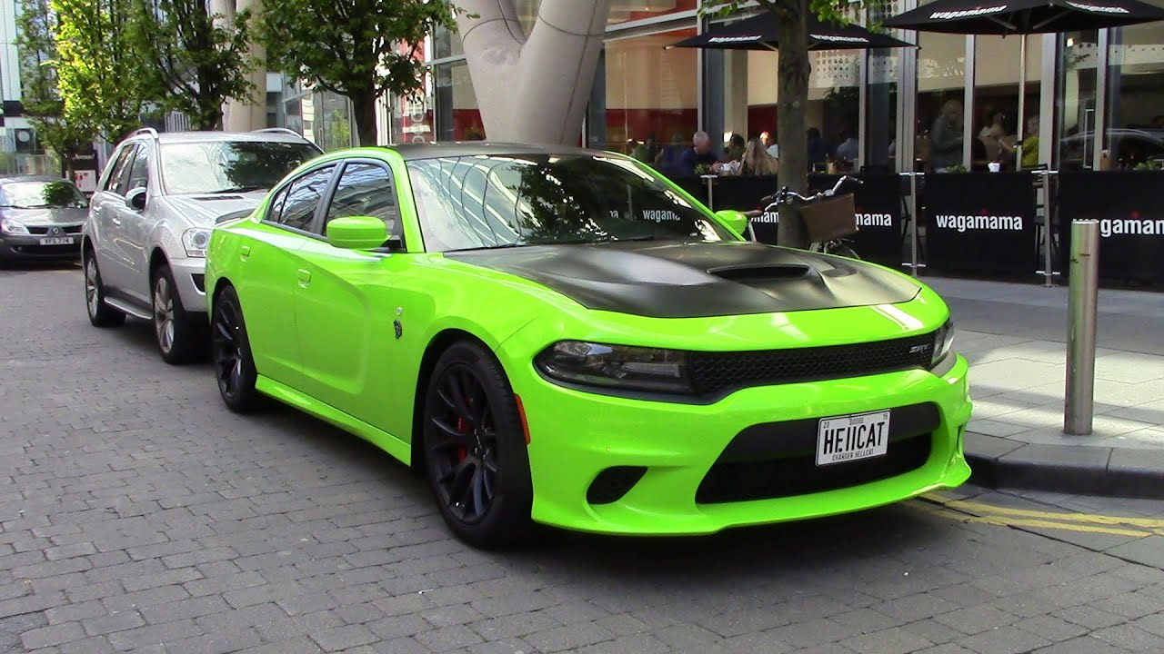 Dodge Challenger Hellcat For Sale >> 707HP HELLCAT REVS!!! only one in the UK!!!! - YouTube