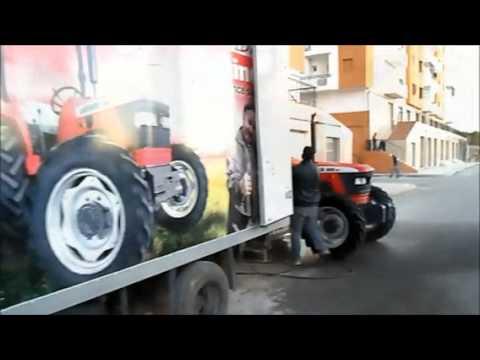 Mahindra Tractors en Algérie / ماهيندرا الجرارات في الجزائر