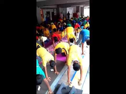 Yoga Day North Point School