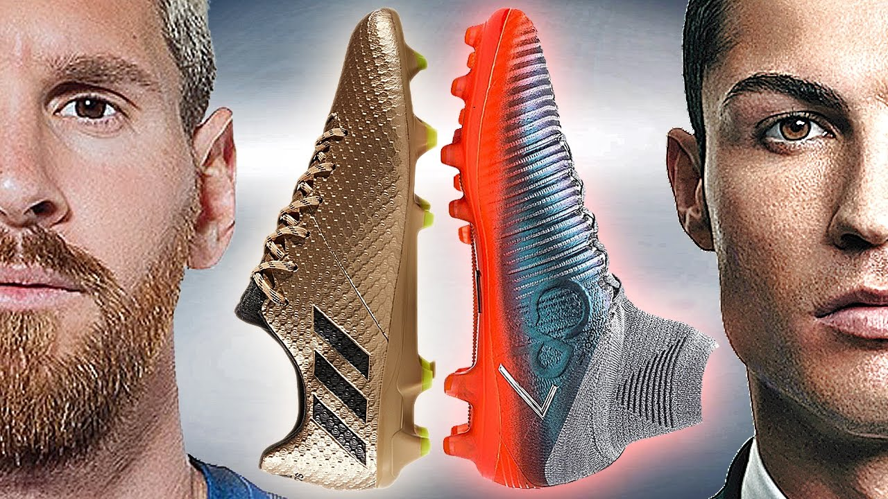 02beef6940d Ronaldo VS Messi - Boot Battle  Nike Superfly V CR7 vs adidas ...