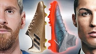 Ronaldo VS Messi - Boot Battle: Nike Superfly V CR7 vs adidas Messi16.1 Test & Review