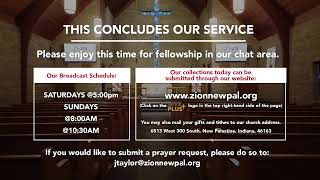 210117 | Sunday 8:00 AM Traditional Service