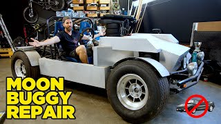 How To Fix a Broken MOON BUGGY ($10,000 Rear Engine Challenge)