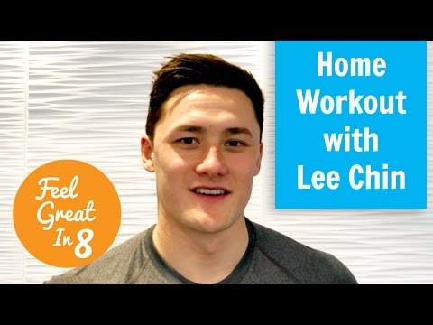 Workout at home with Lee Chin