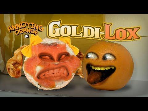 Annoying Orange - Goldi-Lox! (Starring Rebecca Parham!)