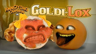 Annoying Orange - Goldi-Lox! (Starring Rebecca Parham!)