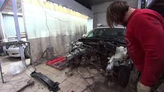 Кузовной ремонт / Mazda 3 BL / 1 Бөлім (СТАПЕЛЬ ЖОҚ)