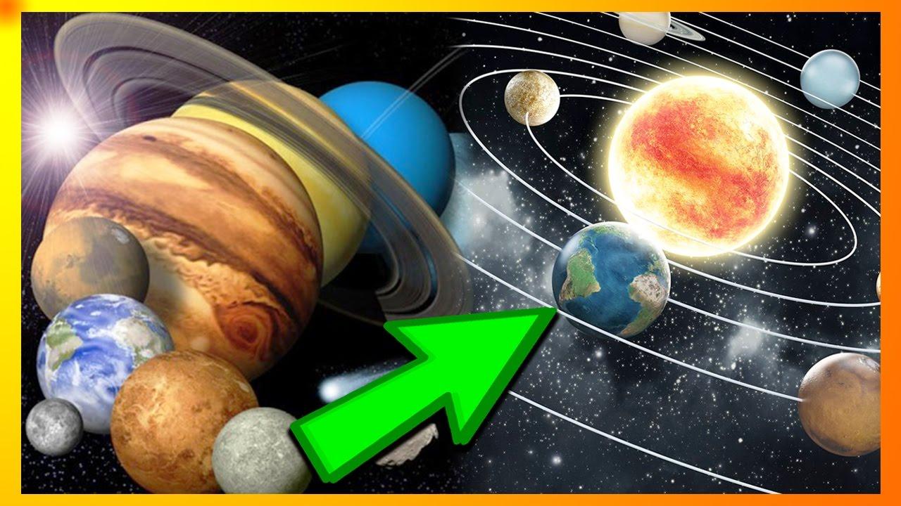 De 8 Planeter I Vores Solsystem