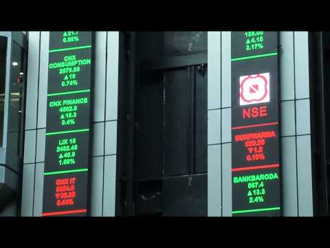 National Stock Exchange LED Display(LED Ticker) by Xtreme Media
