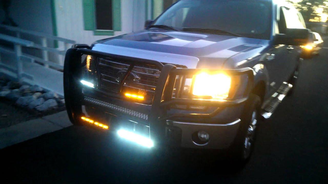 Emergency Vehicle Lighting Ford F150 - YouTube
