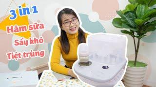 Hướng dẫn mẹ dùng máy tiệt trùng sấy khô mới nhất Moaz bebe 005 TAMIBEBE