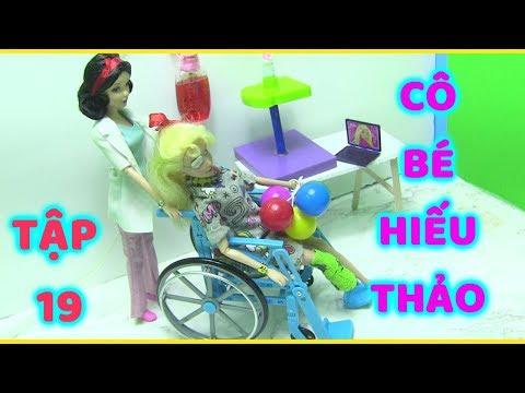 CÔ BÉ HIẾU THẢO _TẬP 19_ Chiếc Xe Lăn Tình Thương (búp bê barbie phim giáo dục nhân quả Trẻ Em)