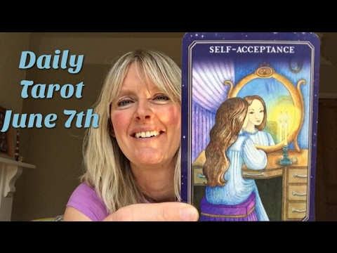 Daily tarot reading 7 June 2017 All Signs 🔮✨ Reflections and self-acceptance - look in the mirror🔮