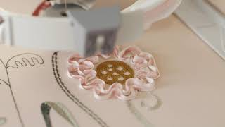 HUSQVARNA® VIKING® DESIGNER EPIC™ 2 Sewing & Embroidery Machine - Ribbon Embroidery