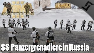 SS Panzergrenadiere in Russia - Iron Front ARMA 3 - WW2 ARMA 3 Gameplay