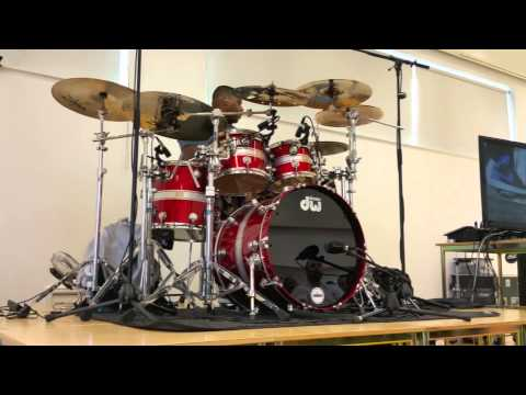 Aaron Spears Drum Clinic - Portadown, Northern Ireland