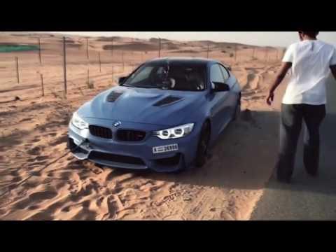 BMW M4 Crazy 360 Drifting