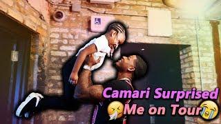 Camari Surprised me on tour