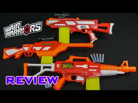 Air Warriors Bulk Review | The Walking Dead Series 2.0