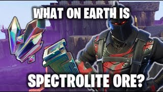 WHAT IS SPECTROLITE ORE? | Fortnite Save The World Secret Items!
