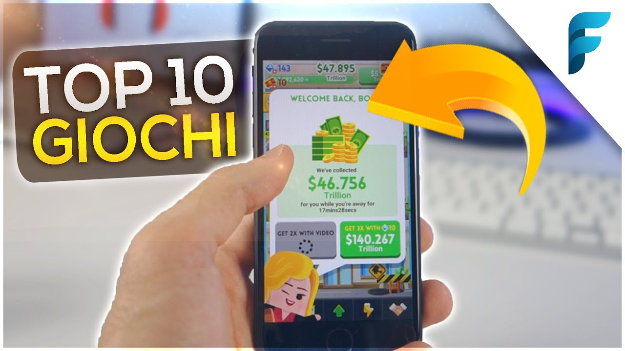 Top 10 Giochi GRATIS! (iOS & Android) - CONSIGLIATI DA VOI! (2018)