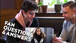 SHAWN MENDES | FAN Q&A