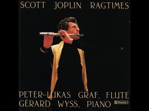 Scott Joplin, Ragtimes: The Entertainer / Peter-Lukas Graf, Gérard Wyss