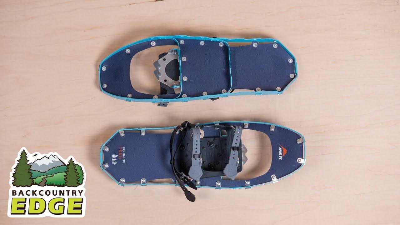 6cfcb431751af MSR Women's Lightning Trail Snowshoes - YouTube
