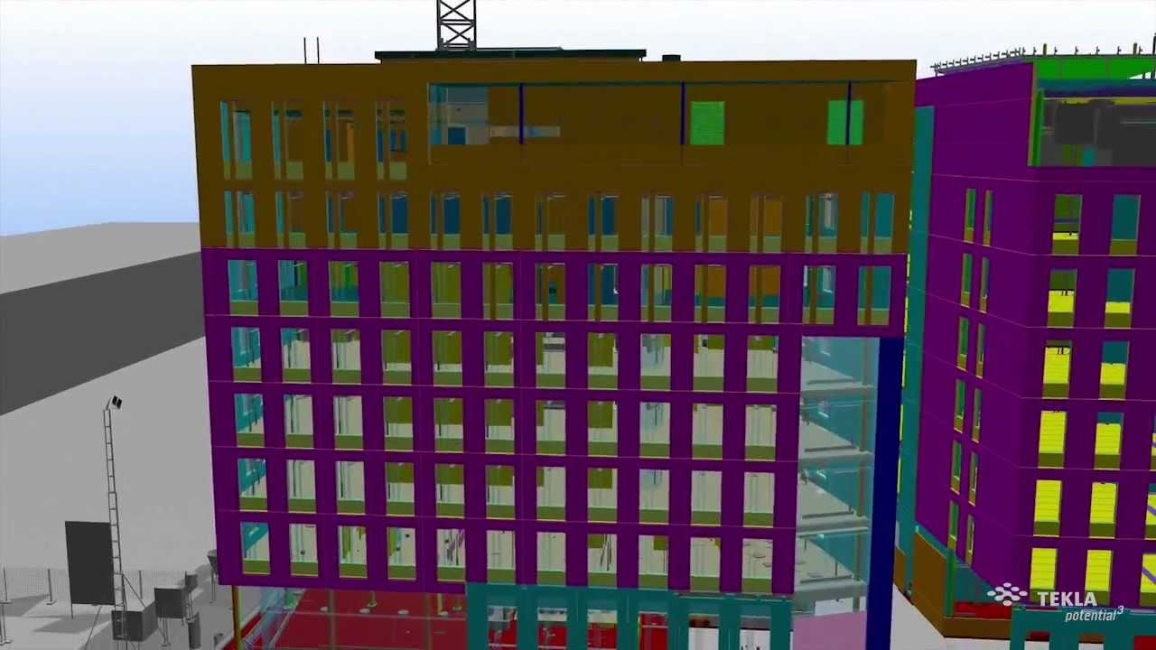 Tekla Construction Modeling - BIM software