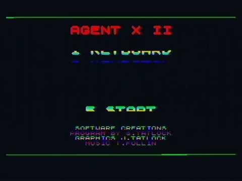 ZX Spectrum 1bit music: Agent X II Tim Follin, 1987