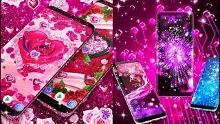 👉 2019 Beautifull Live android wallpaper How to Diamond rose glitter Live wallpaper bangla tutorial screenshot 1