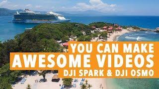 Video Make Awesome Videos with DJI SPARK & DJI OSMO download MP3, 3GP, MP4, WEBM, AVI, FLV September 2018