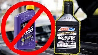 Amsoil vs. Royal Purple - Why I Switched