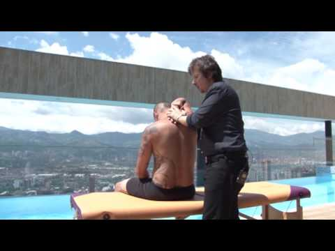 Osteopathic Manipulative treatment with French Osteopath Fabrice LEFEVRE