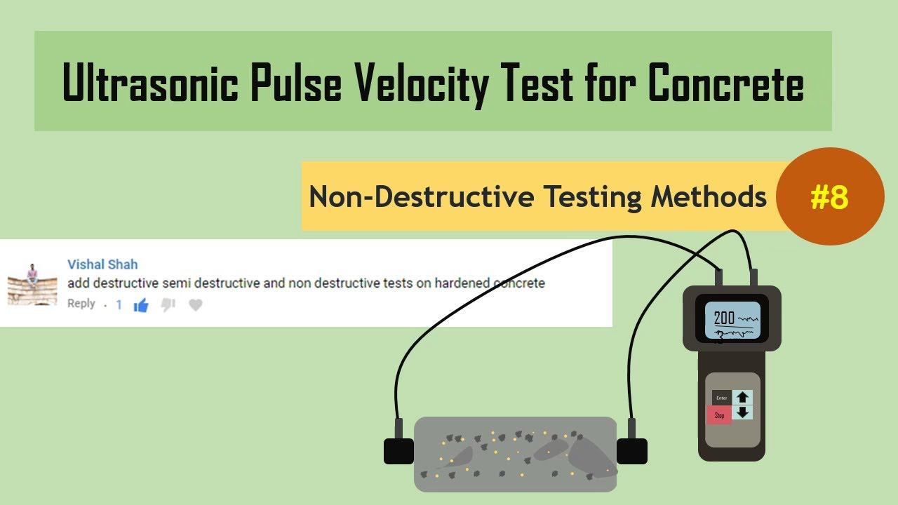 non destructive testing for concrete pdf