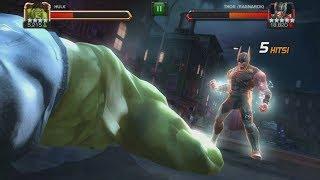 Thor (Ragnarok) All Abilities & Special Attacks - Marvel Contest Of Champions