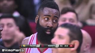 Indiana Pacers vs Houston Rockets - Full Game Highlights  January 10, 2016  NBA 2015-16 Season