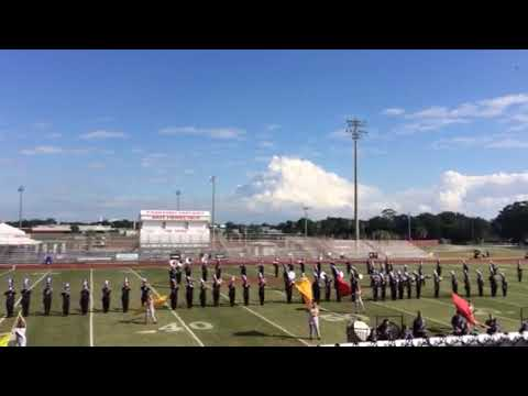 Port St Lucie High School Band Perform Crown Jewel Marching Band Festival 2018