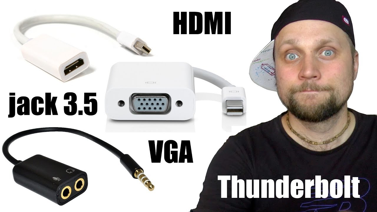 Обзор HDMI to VGA Adapter Cable Video Converter with Audio Output .